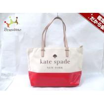 Kate spade スーパーコピー(ケイトスペード スーパー コピー) ショルダーバッグ アイボリー×レッド×マルチ-1