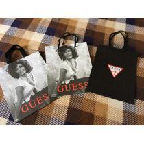 ゲス コピーGUESS ショップ袋紙袋ショッパー 3枚セット-1