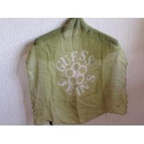 GUESS スーパー コピーゲス コピー緑色グリーンカーキスカーフ-1