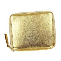 ◆新品偽物◆コムデギャルソン コピー GOLD 2つ折財布(GO)『SA2100G』◆-1