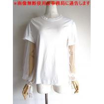 ケイ ニノミヤ コム デ ギャルソン チュール カットソー Tシャツ-1