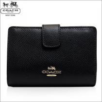 Coach スーパー コピー f54010 imblk 二つ折り財布  レディース-1
