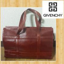 Givenchy  ジバンシー ジ レザーバッグ 牛革 日本製 ロゴ型押し-1