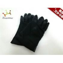Givenchy コピー(ジバンシー) 手袋 レディース 黒 レザー-1