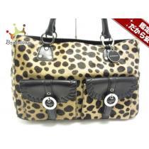 Givenchy コピー(ジバンシー) ハンドバッグ - ベージュ×ダークブラウン×黒 豹柄-1