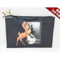 Givenchy スーパー コピー(ジバンシー) クラッチバッグ アンティゴナ 黒×ブラウン×マルチ バンビ-1