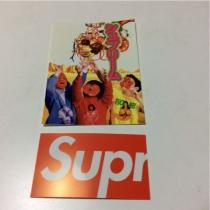 送料無料 シュプリーム スーパーコピーSUPREME スーパーコピーステッカー ショップカード セット-1