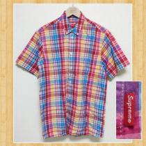 SUPREME コピー シュプリーム コピー USA製 チェックシャツ M レア 超美品-1