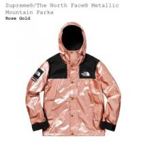 (S) SUPREME コピー THE NORTH FACE スーパー コピー  Metallic Mountain Parka