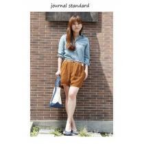 ジャーナルスタンダード *journal STANDARD スーパー コピー★シフォン小花柄ショートパンツ(38)新品-1