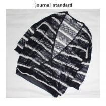 ジャーナルスタンダード コピー*journal STANDARD スーパーコピー★ボーダーカシュクールカーディガン/新品-1