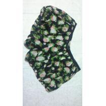 ジルスチュアート スーパーコピーJILL STUARTすそバルーンショートパンツ桃柄花柄シルク使用-1