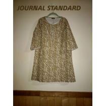 《JOURNAL STANDARD コピー》即決♪送料0大きいサイズ/総柄ワンピ-1