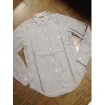 美品JOURNAL STANDARD コピー ストライプシャツ 日本製 ジャーナル-1