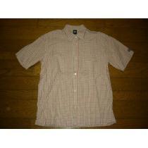 STUSSY コピーステューシー スーパー コピー半袖チェックシャツL USA製OLD-1