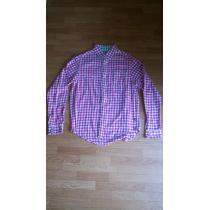 ☆ステューシー 長袖チェックシャツS ピンク×グリーン★-1