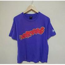 STUSSY スーパー コピー ステューシー スーパーコピー スカル Tシャツ 紫-1