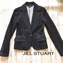 JILL STUART  ジルスチュアート スーパーコピー デニムジャケット ブラック-1