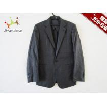 DKNY スーパー コピー(ダナキャラン スーパー コピー) ジャケットM メンズ 黒 肩パッド-1