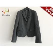 DKNY スーパー コピー(ダナキャラン コピー) ジャケット4 レディース美品  ダークグレー 厚手-1