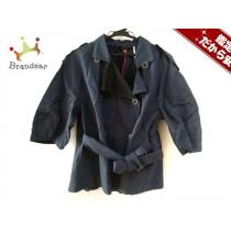 DONNAKARAN(ダナキャラン コピー) ジャケットP レディース ネイビー コットン-1
