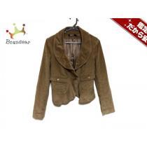 DKNY コピー(ダナキャラン ) ジャケット2 レディース ライトブラウン コーデュロイ-1
