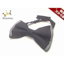 DSQUARED2 スーパー コピー(ディースクエアード コピー) ネクタイ メンズ美品  黒×白 蝶ネクタイ-1