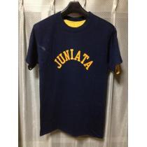 ヴィンテージ チャンピオン コピー バータグ リバーシブル 半袖Tシャツ Sサイズ 紺×黄 USA製-1