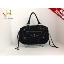 DKNY スーパーコピー(ダナキャラン スーパーコピー) ハンドバッグ 黒 キャンバス-1