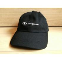 新品Champion コピー帽子*未使用チャンピオン *刺繍キャップ*ブラック黒-1