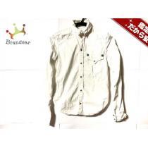 DSQUARED2 スーパーコピー(ディースクエアード スーパーコピー) 長袖シャツ38 メンズ 白-1