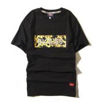 Dickies スーパー コピー 半袖Tシャツ Mサイズ 黒 yel-1