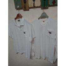 ディッキーズ スーパーコピー/Dickies  長袖ロングTシャツ×半袖ポロシャツ 2枚セット L-1