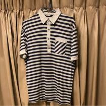 偽物ディオールオム スーパーコピー05ギター刺繍ポロシャツ半袖エディスリマンL-1