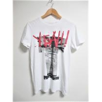 ☆DIESEL コピー ディーゼル コピー デザイン 丸首 Tシャツ 半袖/メンズ/XS-1