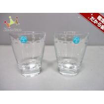 スーパーコピー Tiffany&Co.(ティファニー スーパーコピー) ペアグラス新品同様  グラマシー クリア ガラス-1