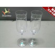 ティファニー コピー ペアグラス新品同様  スウィング クリア シャンパングラス ガラス-1
