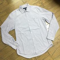 美品TOMMY HILFIGER スーパーコピー ストライプシャツ パープル トミー-1