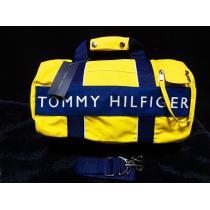 トミーヒルフィガー  ミディアムボストン ショルダーバッグ-1