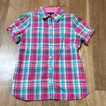 トミーヒルフィガー  レディースM チェックシャツ-1