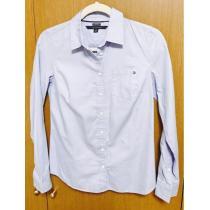 ③TOMY 水色シャツ xs-1