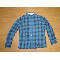 NEIGHBORHOOD スーパー コピーネイバーフッド スーパーコピーLOGGERチェックシャツM青黒121-1