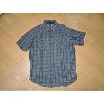 ネイバーフッド コピーNEIGHBORHOOD スーパー コピーチェックネルシャツL黒灰系半袖-1