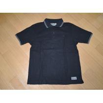 ネイバーフッド コピーNEIGHBORHOOD スーパーコピーラインポロシャツM黒FINKS-1