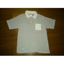 NEIGHBORHOOD コピーネイバーフッド ボーダーポロシャツ2白黒マリン-1