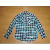 ネイバーフッド スーパーコピーNEIGHBORHOOD コピーウエスタンチェックシャツL青緑-1