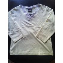 新品 newBalance コピー女性用ウェア(M)白・7分袖-1
