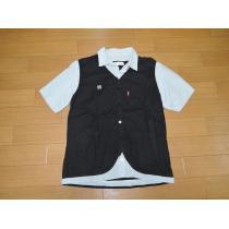 NEIGHBORHOOD スーパー コピーネイバーフッド CAPITALシャツS黒半袖-1