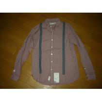 ネイバーフッド コピーNEIGHBORHOOD サスペンダーチェックシャツS赤白-1