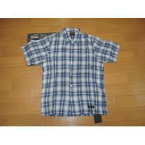 新品NEIGHBORHOOD スーパーコピーネイバーフッド スーパーコピーB&CチェックシャツM青半袖-1
